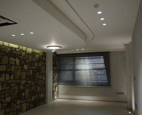 طراحی داخلی با سنگ