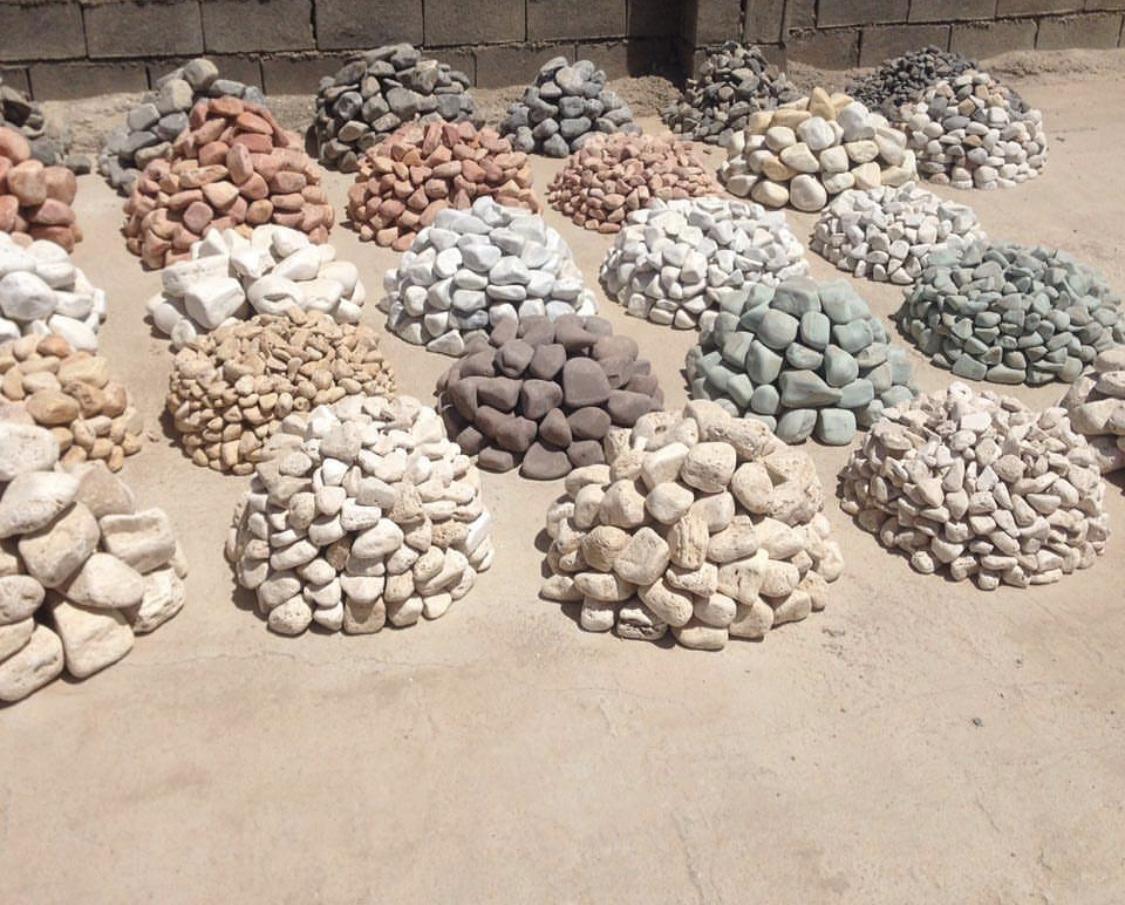 سنگ قلوه یا سنگ رودخانه ای